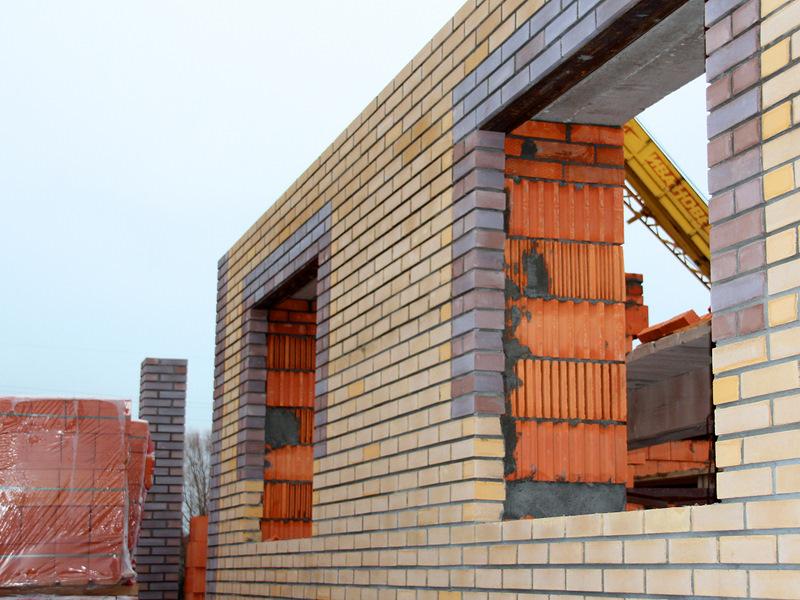 Строительство дома из теплой керамики своими руками 6